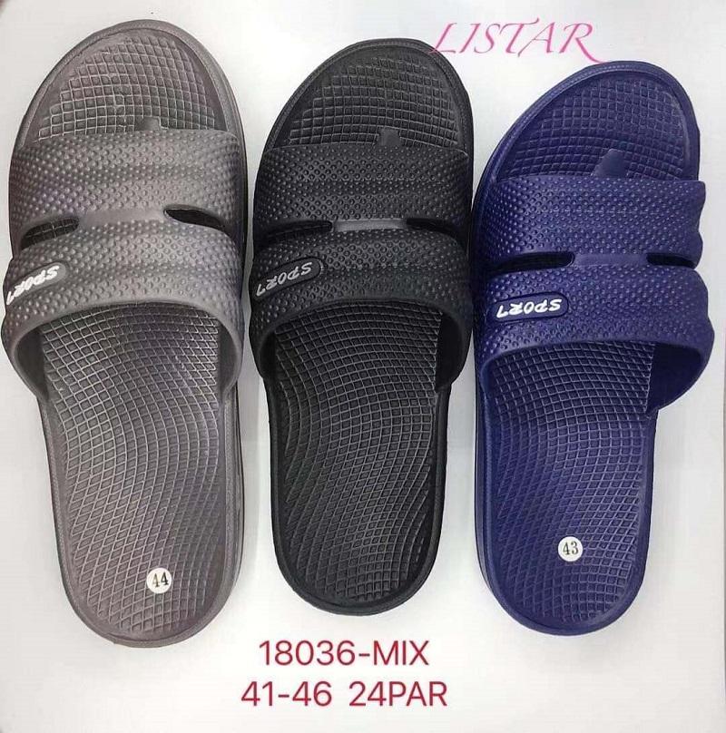 Pánské pantofle LISTAR (41-46)