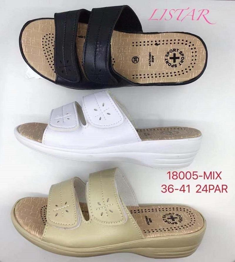 Dámské zdravotní pantofle LISTAR (36-41)