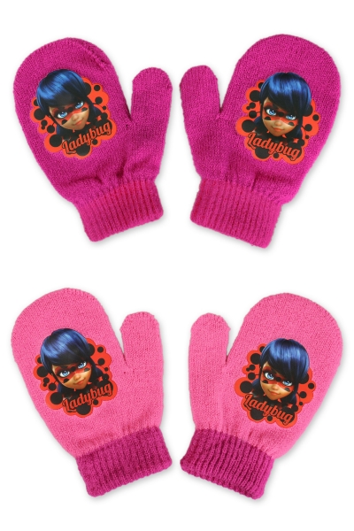 Dívčí palcové rukavice  (vel. UNI)