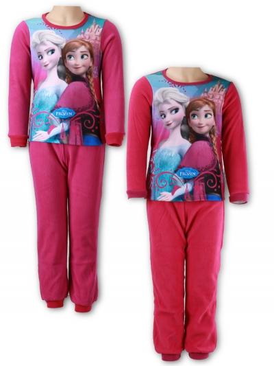 Dívčí noční pyžamo polar- teplé  FROZEN (98-140)