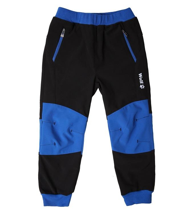 Chlapecké softshellové kalhoty WOLF (92-110)