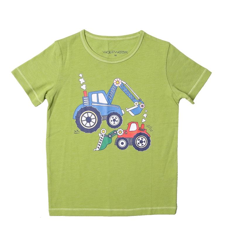 Chlapecké triko s krátkým rukávem  WOLF (98-128)