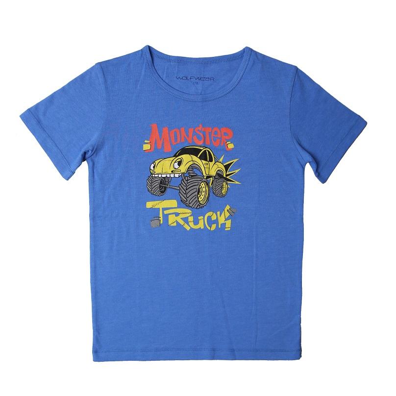 Chlapecké triko s krátkým rukávem WOLF (116-146)