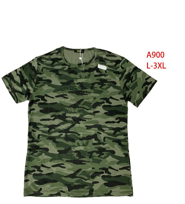 Pánské maskáčové triko krátký rukáv (L-3XL)
