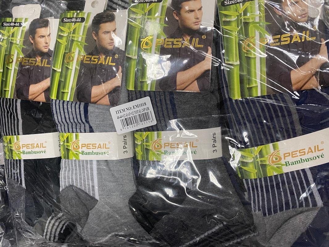 Pánské bambusové ponožky PESAIL (40-47)