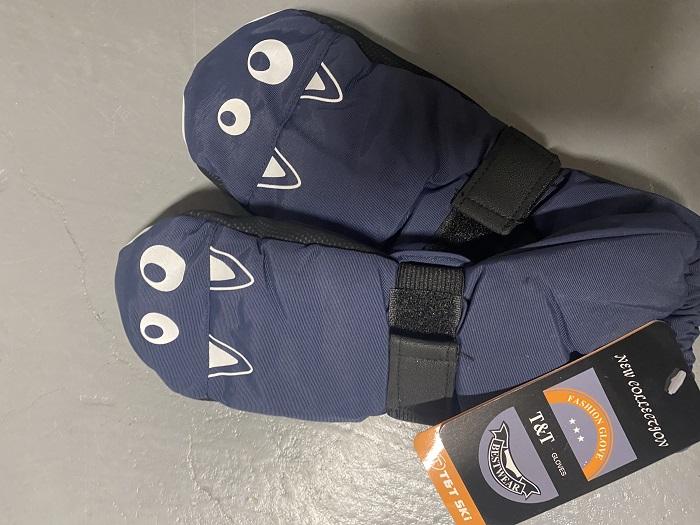 Dětské zimní palcové rukavice (2/3-4/6let)