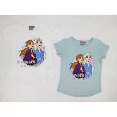 Dívčí triko s krátkým ruávem FROZEN (98-128)