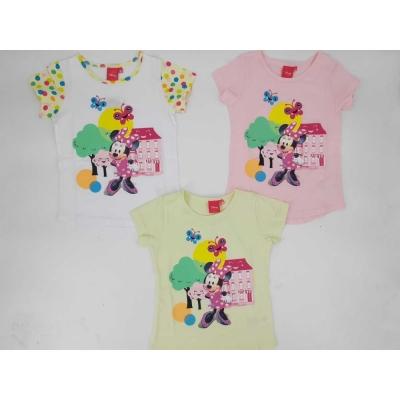 Dívčí triko s krátkým rukávem MINNIE (98-128)