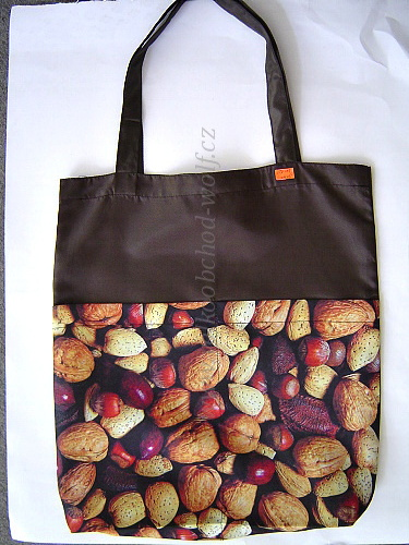Nákupní taška - ořechy