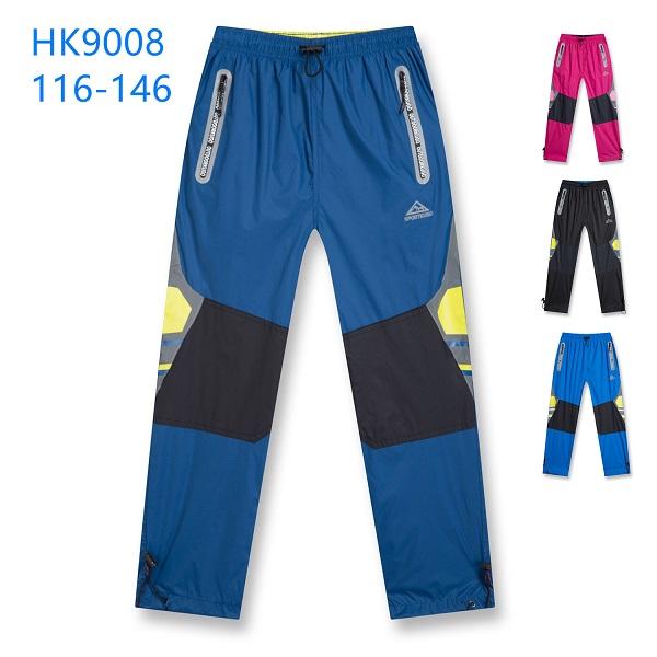 Šusťákové kalhoty slabé KUGO (116-146)