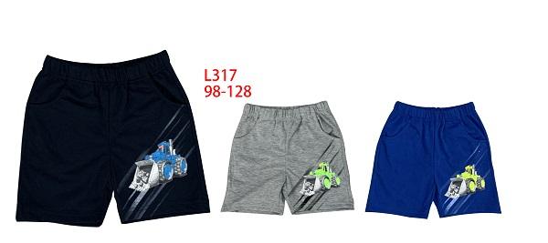 Chlapecké letní šortky SEZON (98-128)