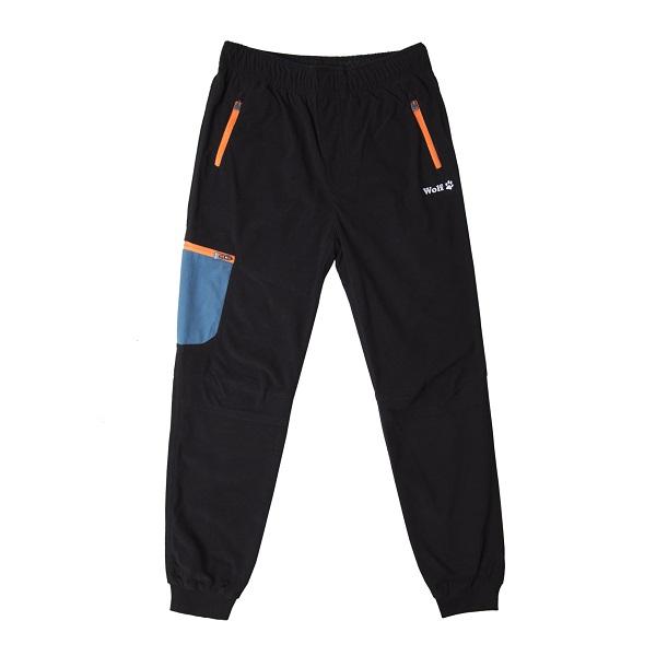 Chlapecké manžestrové  kalhoty  WOLF (134-164)