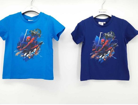 Chlapecké triko s krátkým rukávem SPIDER MAN (98-128)