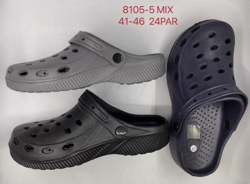 Pánské gumové nazouváky (crocs)  (41-46)