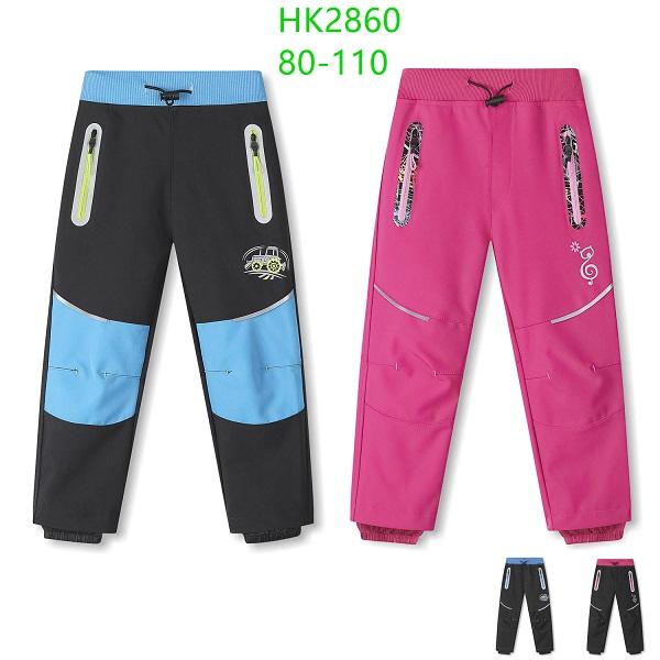 Dětské  softshellové kalhoty KUGO (80-110)