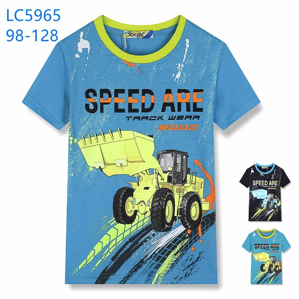 Chlapecké triko s krátkým rukávem KUGO (98-128)