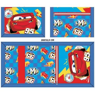 Chlapecká peněženka CARS (26*12.5CM)
