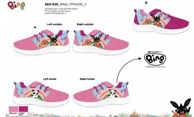Dívčí obuv, botasky BING  (26-33)