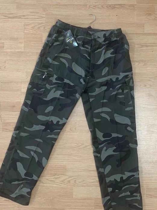 Pánské MASKÁČOVÉ plátěné kalhoty SEZON (XL-4XL)