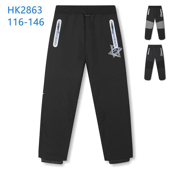 Dětské slabé  softshellové kalhoty KUGO (116-146)