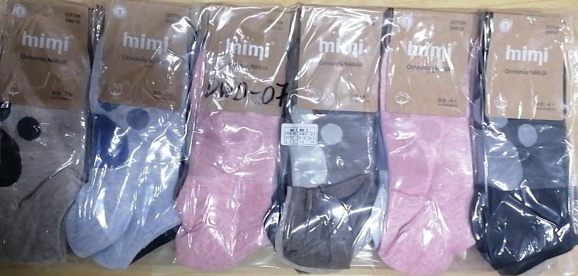 Dámské kotníčkové ponožky MIMI (35/38-38/41)