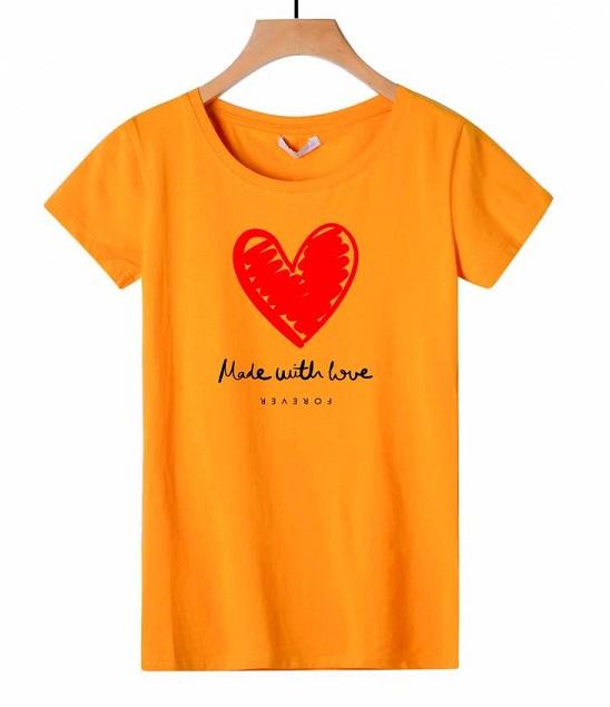 Dámské triko s krátkým rukávem GLO-STORY (S/M-L/XL