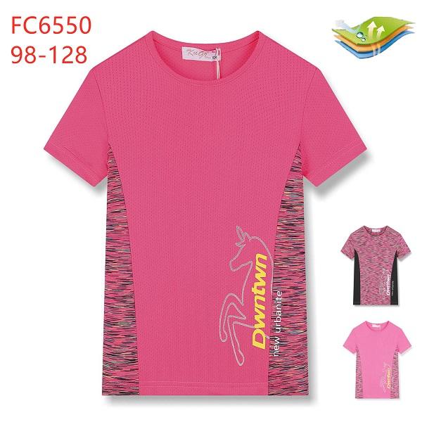 Dívčí funkční triko s krátkým rukávem KUGO (98-128)