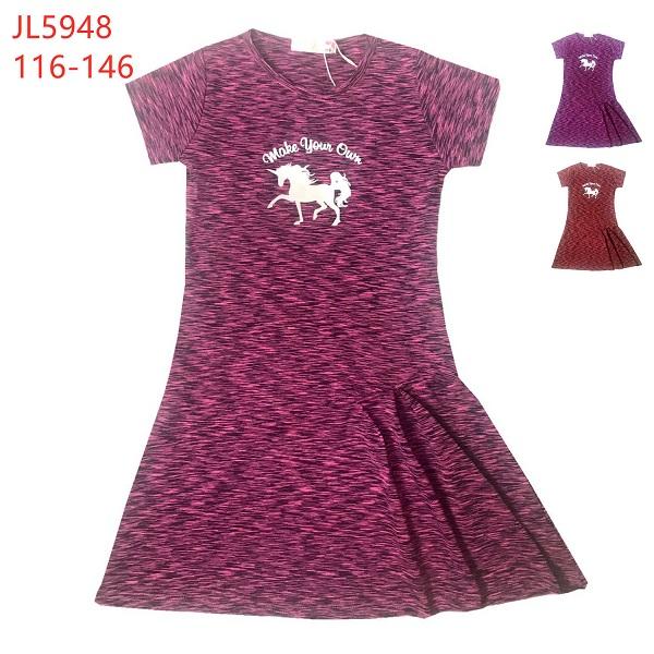 Dívčí funkční šaty KUGO (116-146)