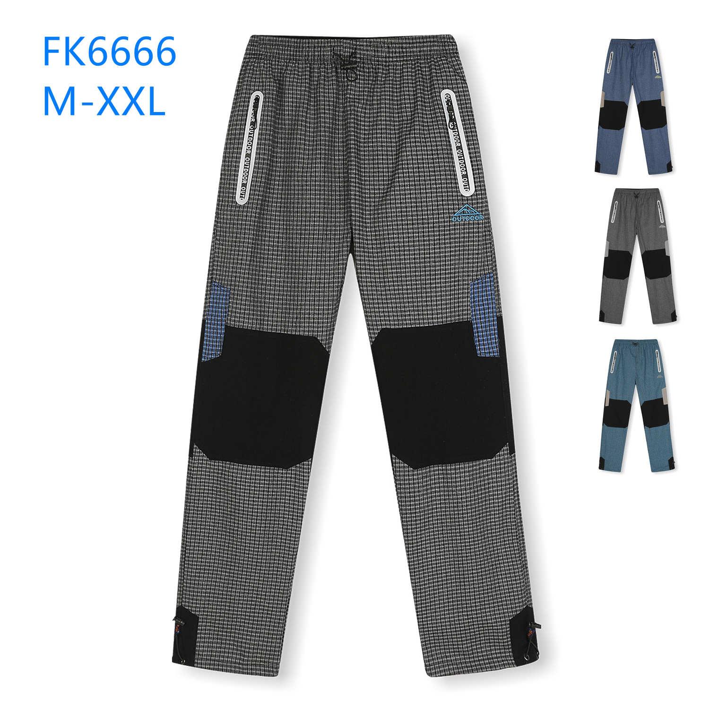 Dospělé plátěné outdoorové kalhoty KUGO (M-2XL)