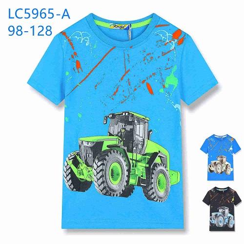 Chlapecké triko s krátkým rukávem KUGO (98-128