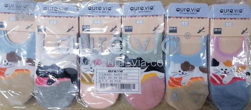 """Dámské ponožky """"ťapky"""" AURA-VIA (35-41)"""