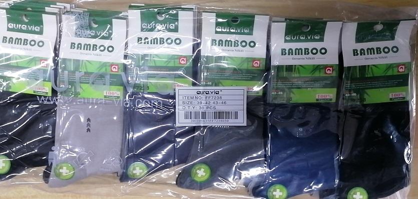 Pánské zdravotní  bambusové ponožky AURA-VIA (39-46)