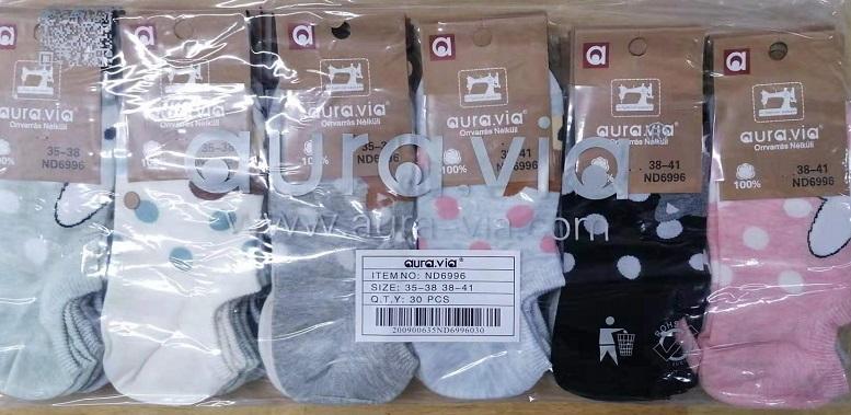Dámské kotníčkové ponožky AURA-VIA (35-41)
