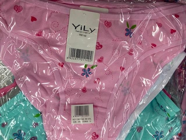 Dámské spodní kalhotky YILY (M-XXL)