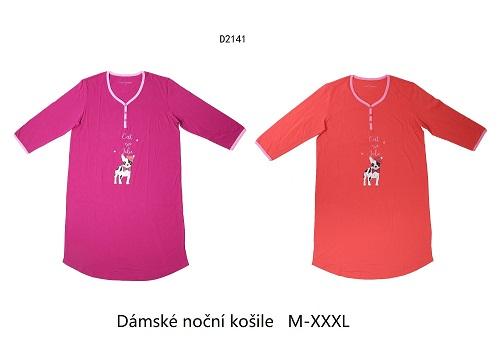 Dámská noční košile  WOLF (M-3XL)