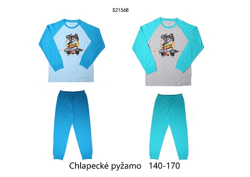 Chlapecké noční pyžamo WOLF (140-170)