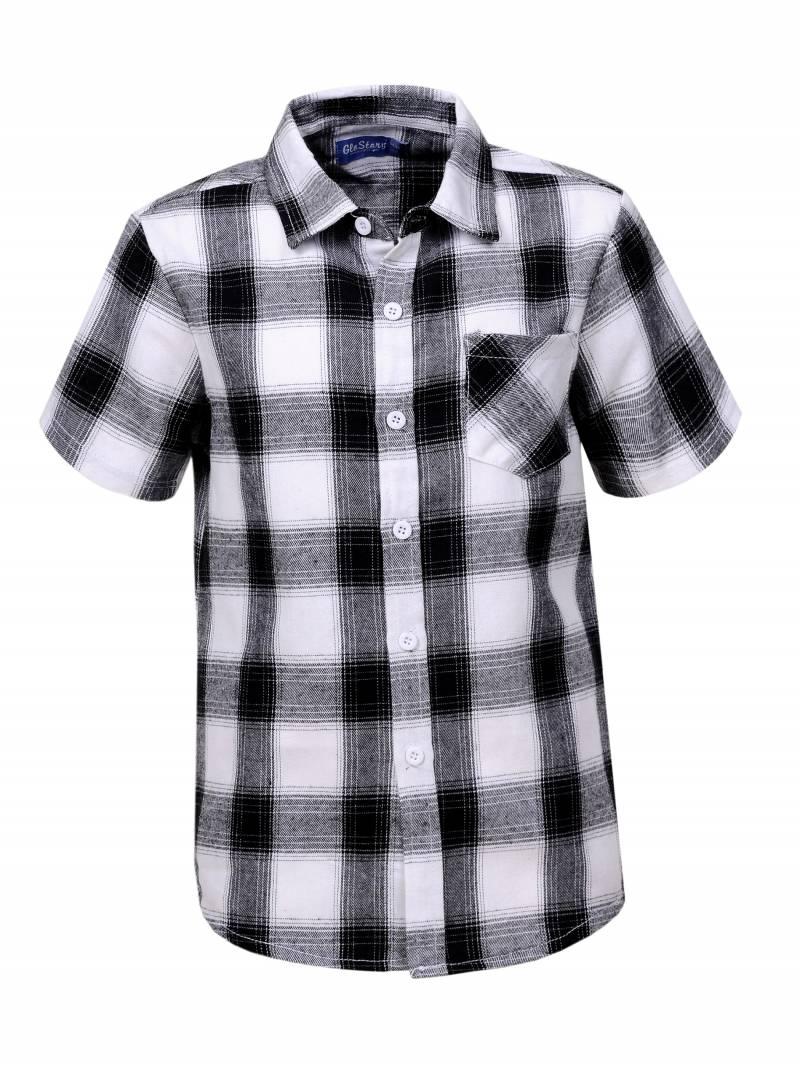 Chlapecká košile s krátkým GLO-STORY (134-164)