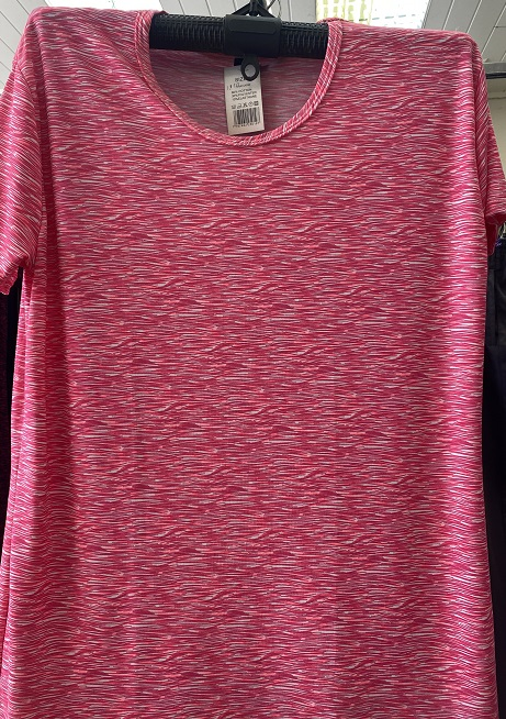 Dámské letní triko s krátkým rukávem  (M/L-XXL)