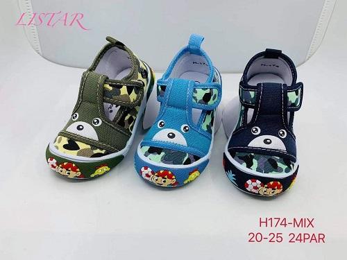 Dětská plátěná obuv (20-25)