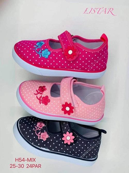 Dětská plátěná obuv (25-30)