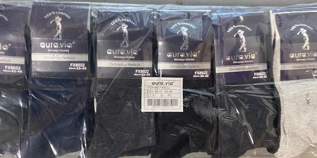 Pánské bavlněné  ponožky AURA-VIA (39-46)