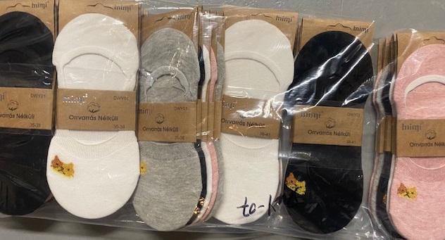 Dámské ponožky (ťapky) MIMI  (35/38-38/41)