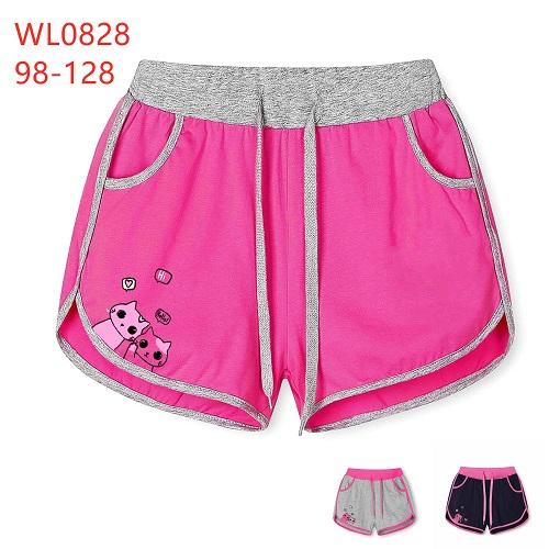 Dívčí šortky  (kraťasy)  KUGO (98-128)