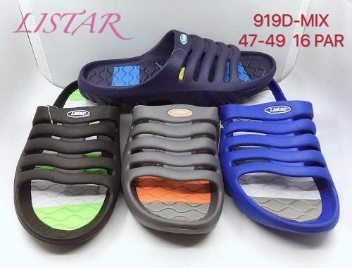 Pánské gumové pantofle (velké velikosti) (47-47)