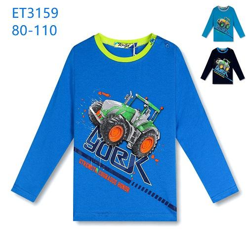Chlapecké triko dlouhým  rukávem KUGO (80-110)