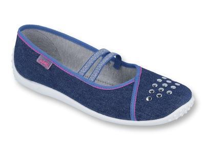 Dorostenecká  plátěná obuv BEFADO (37-40)