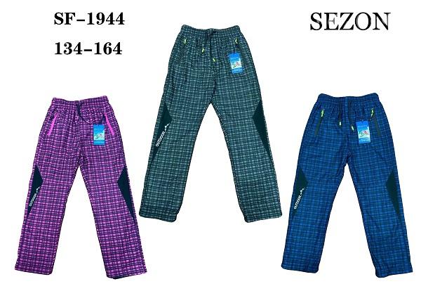 Dorostenecké slabé  outdoorové  kalhoty  SEZON (134-164)