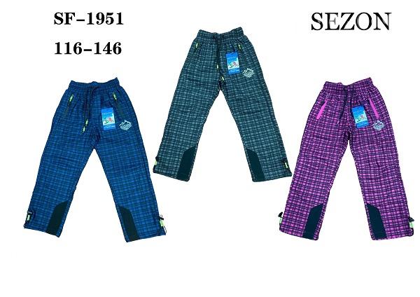 Outdoorové slabé kalhoty SEZON (116-146)