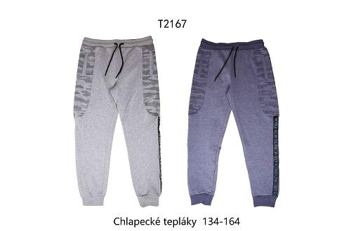 Chlapecké tepláky WOLF (134-164)