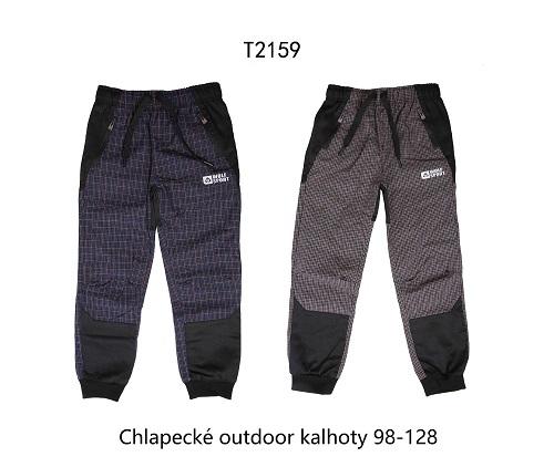 Chlapecké slabé outdoorové kalhoty  WOLF (98-128)